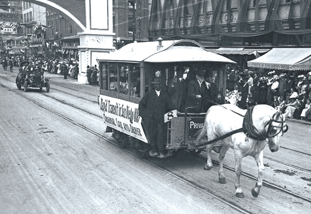All About History horsecar