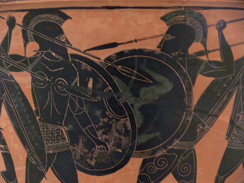Soldiers of the past: Hoplites