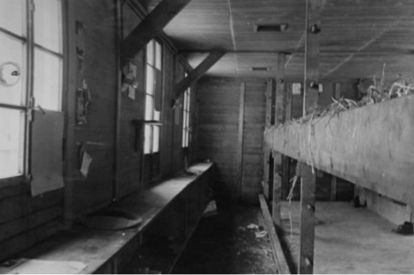 The interior of the notorious Wauwilermoos internment camp