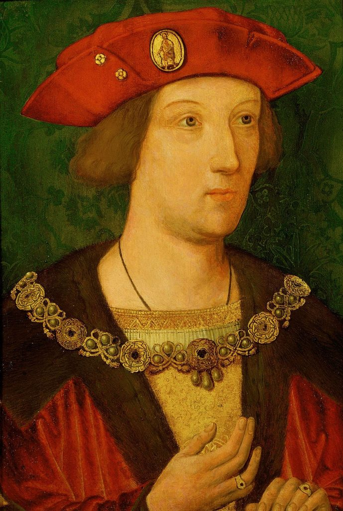 Arthur, Prince of Wales painted c. 1490-1500