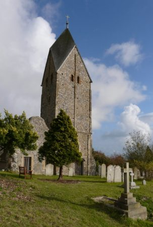 This West Sussex church is one of the clearest examples of the Anglo-Saxons Germanic origins.