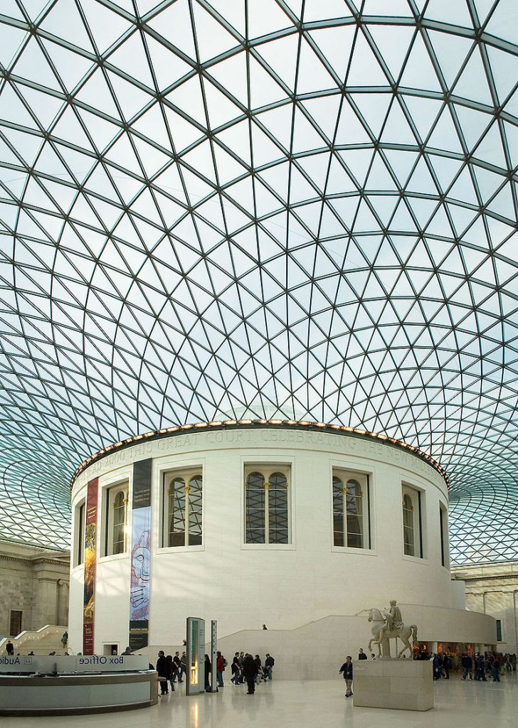 The Reading Room and Great Court of the British Museum © Andrew Dunn,