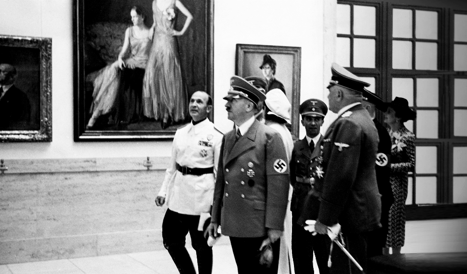 Did this gloomy painting predict the rise of Adolf Hitler? | All ...
