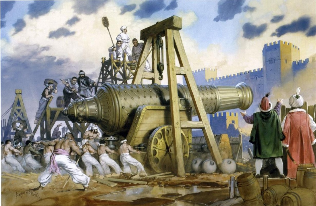 Ottoman Super Cannon The Bombard That Built An Empire All About