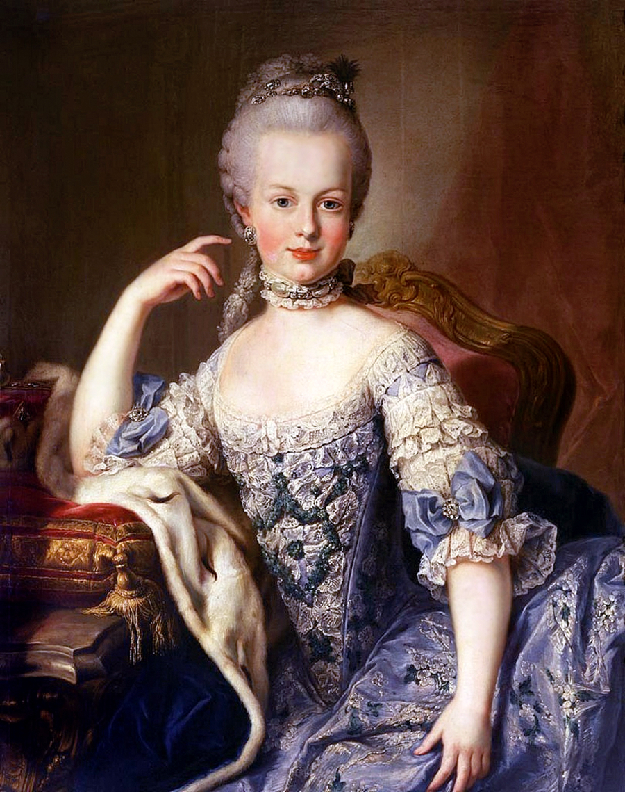 What did Marie Antoinette wear at her wedding? | All About History